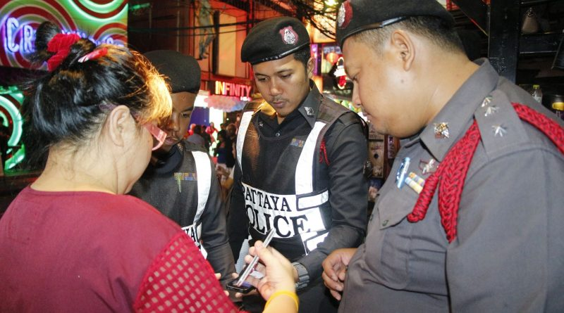 pattaya police in soi 6