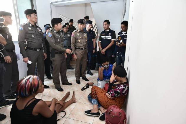 more police arrests pattaya